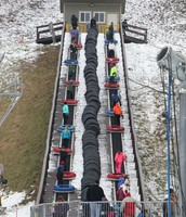 The tube lift at Hidden Valley