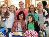 Students Give Thanks at West