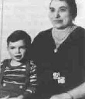Capone With His Mother