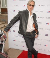 Tommy on the red carpet