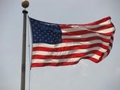 The U.S.A flag