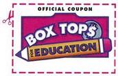 Box Tops Success!!  Thank you, Mrs. Stark!