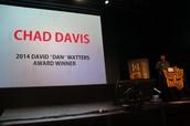 "2014 David ""Dan"" Watters Award Winner - Chad Davis"