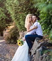 Newlyweds Amanda & Richard Smith