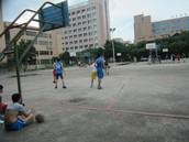 Basketball, one of the many activities offered on campus