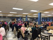 Senior Citizen Dinner before Legally Blond