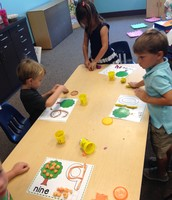 Play Dough Trees