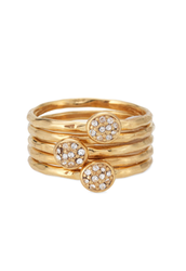 Paloma Stacked Rings (Size 8)