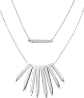 Rebel Cluster Necklace (silver)