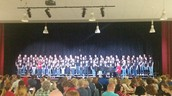 Combined 8th and 9th grade Boys and Girls Choir