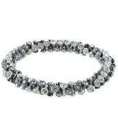 Vintage Twist Bracelet- S/M Silver