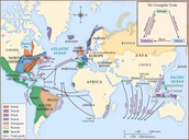 Trade routes and goods during the age of mercantilism