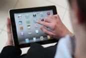 iPad roll-in