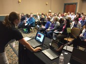 Our session at the conference