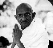 what did Gandhi do?