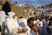 Global Warming will someday make hajj a life threatening pilgrimage.