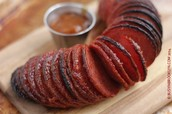 How is salami fermented?