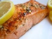 El pescado de límon