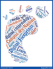 What makes up your digital footprint? Who can access the content you share online?