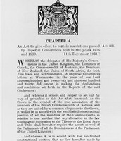 A chapter from the Statute
