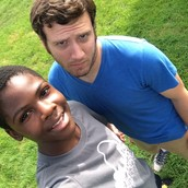 Jamel Williams and Jeremy Weed posting selfies on a Saturday afternoon.
