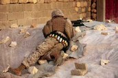 us marine taking cover