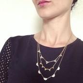 Pave Chevron Necklace