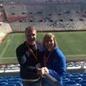 Mrs. Carol Cuyler and her husband, Chris.