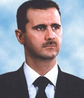 Bashar al-Assad and his government