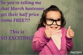 March AMAZING Hostess Special!!!