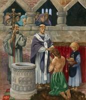 St Augustine baptising King Ethelbert