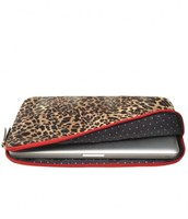 Chelsea Laptop Case in Leopard