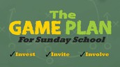 We have a Sunday School Game Plan!