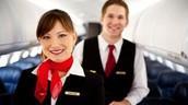 Los asistentes de vuelo