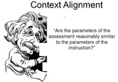 Is the context in Alignment?