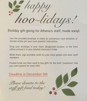 Gifting Flyer in your school cubby!