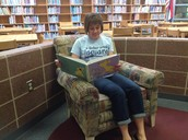 Mrs. Sullivan-Library Assistant