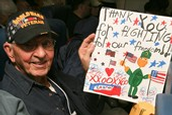 Honor Flight Mail Call Letter Writing