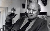 Roald Dahl in his later life