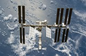 International Space Station in Space
