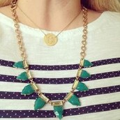 Emerald Eye Candy Necklace (the green one pictured)