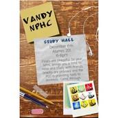 Study Break w/ Vandy NPHC!
