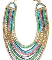 ZAHARA BIB NECKLACE $87 (65% OFF)
