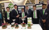 YOUNG ENTERPRISE TEAM WIN TWO CUPS