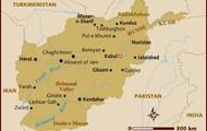 map of Afganistan