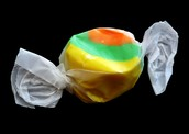 rainbow mixed taffy