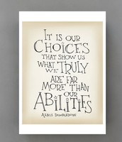 We are in Charge of our Choices!