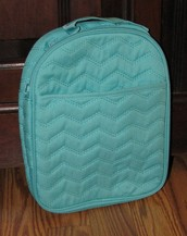 Chill-isious Thermal - Turquoise Quilted Chevron