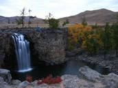 The Orkhan Khurkhree waterfall