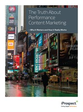 The Truth About Performance Content Marketing (Whitepaper)
